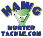 Custom hand poured soft plastic baits.  Build your own baits at Hawg Hunter Tackle.com