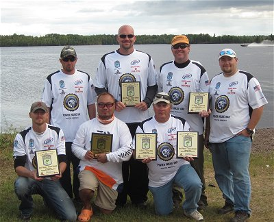 Minnesota BASS Fed Tournament of Champs - Duluth Bass Club 2012