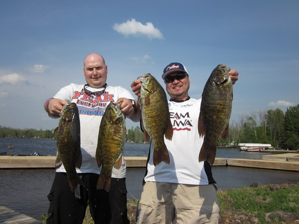 2nd place Lake Vermilion, Tower, MN - Steve Johnson & Sharaku Kishida